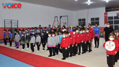 """Photo of """"Dr. Fazıl Küçük Cimnastik Salonu"""" düzenlenen törenle açıldı"""