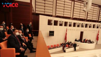 Photo of Saner, TBMM Genel Kurul toplantısını izledi