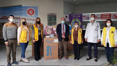 Photo of Mağusa Kale Lions Kulübü'nden hastaneye bağış