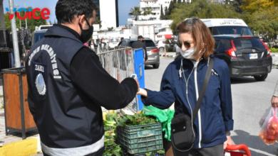Photo of Girne'de açık pazar covid-19 tedbirleriyle açıldı